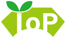 IoP Next次世代 Internet of Plants のロゴ